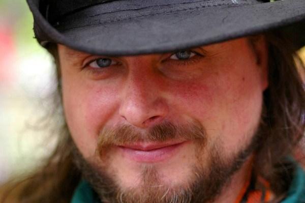 Charles Sanderson in Ren Faire garb, 2006